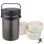 Isosteel 1.5L food container