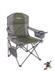 Oztrail Cooler Arm Chair 130 kg (green/grey)