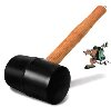 LQuip Rubber Mallet with Tent Peg Puller