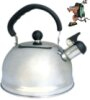 LQuip Whistling Kettle with Foldable Handle