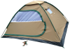 Totai 4 Man Canvas Tent