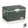 Coleman 54Qt (51L) Green Steel Belted Cooler