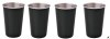 Thermosteel 400ml tumbler set (black)