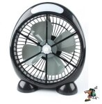 LQuip Rechargeable CoolBlaster Fan with LED Light
