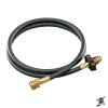 "Coleman 5"" propane hose with adapter"