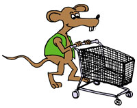 Shopping rat